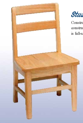 """Student Chair - 17-1/2"""""""
