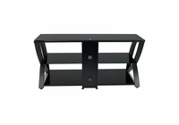 STUDIO DESIGNS / CALICO Futura Advanced TV Stand / Black / Black