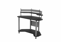 STUDIO DESIGNS / CALICO Study Corner Desk Silver / Black