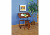 Studio Designs Creative Table and Stool Set (Walnut)