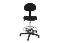 STUDIO DESIGNS Studio Drafting Chair / Black