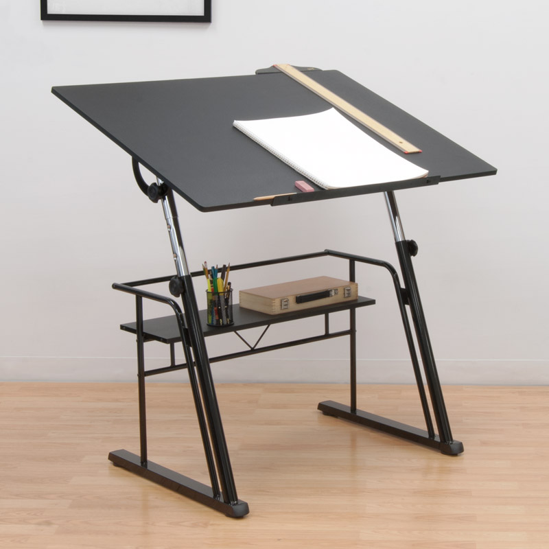 Studio designs zenith drafting table for Ikea drafting table with lightbox