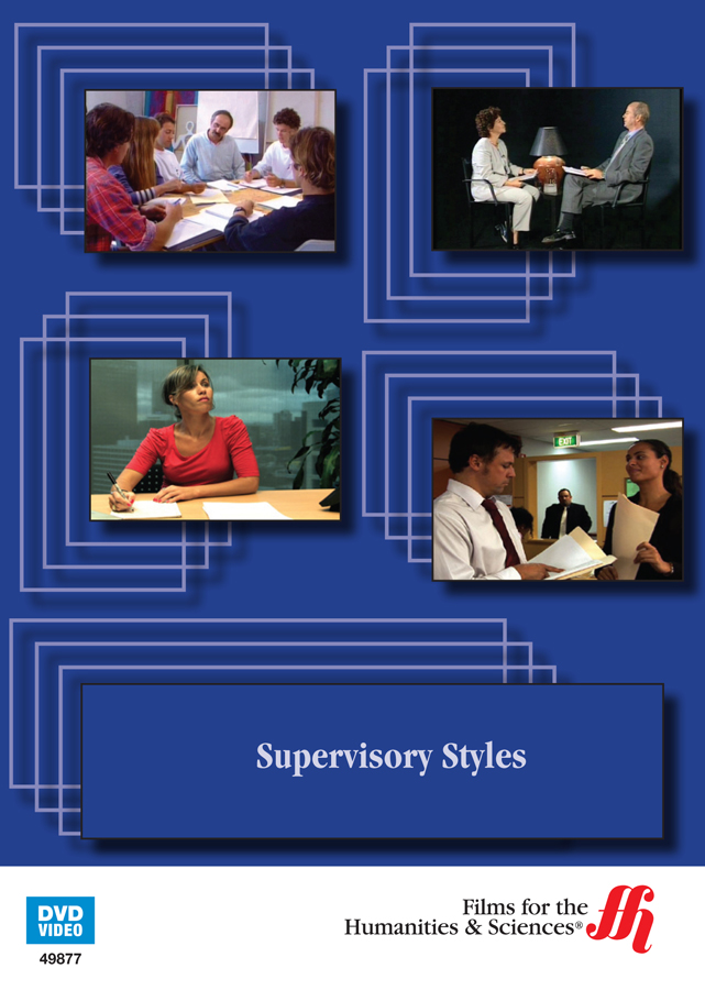 supervisory styles Conducted a series of studies (n=627) to develop and validate the supervisory styles inventory (ssi), with parallel versions for supervisors and trainees four.