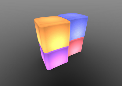 TENJAM Cube Bright - Small Size - Click to enlarge