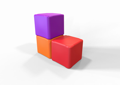 TENJAM Cube Firm - Small Size - Click to enlarge