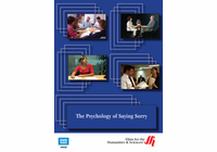 The Psychology of Saying Sorry (Enhanced DVD)