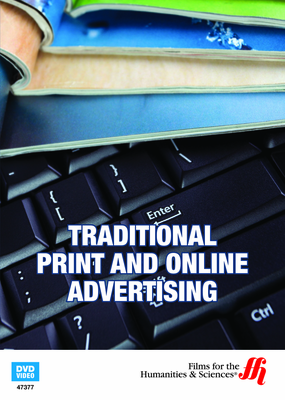 Traditional Print and Online Advertising (Enhanced DVD)
