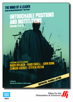 Untouchable Positions and Institutions: The Mind of a Leader 1 (Enhanced DVD)