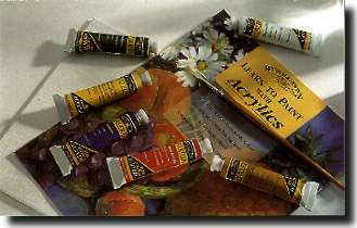 W&N Galeria Acrylics (60ml - 2oz) ALL OUR COLORS - 16 TUBES - Click to enlarge