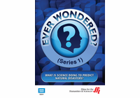 What Is Science Doing to Predict Natural Disasters? Ever Wondered? (Series 1) (Enhanced DVD)