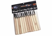 RICHESON Wood Carving Knife Set (12 Pieces)
