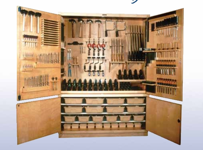 DIVERSIFIED WOODCRAFTS Woodworking Tool Storage Cabinet TC-10
