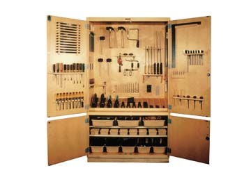 DIVERSIFIED WOODCRAFTS Woodworking Tool Storage Cabinet - 48""