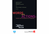 Words and Actions: Contexts and Consequences of Propaganda�from the United States Holocaust Memorial Museum (Enhanced DVD)