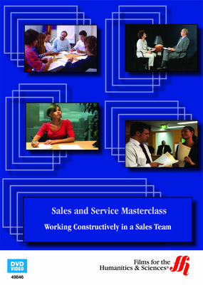 Working Constructively in a Sales Team: Sales and Service Masterclass (Enhanced DVD)