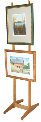 Xylem Design Double Sided Wood Easel 7'