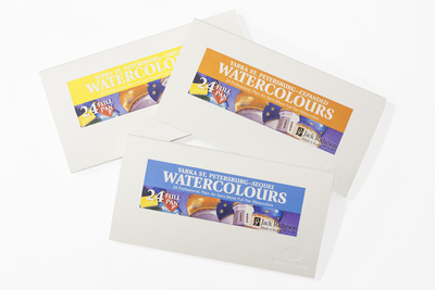 Yarka™ St. Petersburg Watercolor Sets of 24 - Click to enlarge