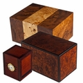 Adieu Burl Wood Cremation Urns