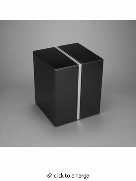 Nero Absoluto aeternitas i nero absoluto granite companion cremation urn