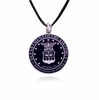 Air Force Stainless Steel Cremation Jewelry Pendant Necklace