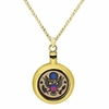 Army Brass Cremation Jewelry Necklace