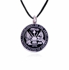Army Stainless Steel Cremation Jewelry Pendant Necklace