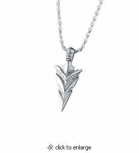 Arrow head sterling cremation jewelry pendant necklace for ashes arrow head sterling silver cremation jewelry pendant necklace aloadofball Gallery