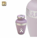 Awareness Pink Ribbon Keepsake Cremation Urn