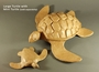 Biodegradable Natural Paper Large Turtle Cremation Urn