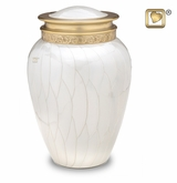 Blessing Pearl Brass Cremation Urn
