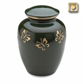 Butterfly Quest Brass Cremation Urn