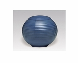 Cobalt Blue Sfera Porcelain Keepsake Cremation Urn