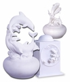 Dolphin Cultured Marble Cremation Urns