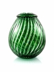 Emerald Green Zita Lead Crystal Cremation Urn