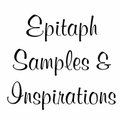 Epitaph Samples and Inspirations