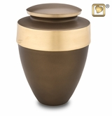 Eternity Auburn Brass Cremation Urn