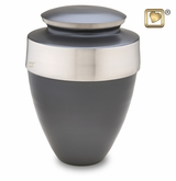 Eternity Slate Brass Cremation Urn