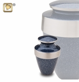 Eternity Speckled Indigo Keepsake Cremation Urn