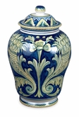 Fiori Italian Hand-Painted Porcelain Cremation Urn