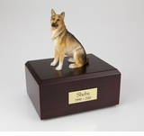 German Shepherd Dog Figurine Pet Cremation Urn - 100
