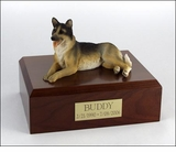 German Shepherd Dog Figurine Pet Cremation Urn - 333