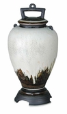 Lava Earth Tone Hand-Thrown Porcelain Cremation Urn