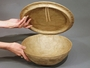 Serenity Sand Dollar Biodegradable Water Burial Cremation Urn