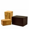 MDF Wood Cremation Urns