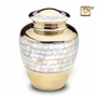 Mother of Pearl Cremation Urn by LoveUrns