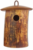Natural Birdsong Scattering Mangowood Birdhouse Cremation Urn
