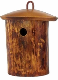 Natural Birdsong Small Scattering Mangowood Birdhouse Cremation Urn