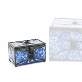 Paragon Sapphire Memory Chest Keepsake Cremation Urn