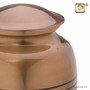 Radiance Copper Brass Cremation Urn