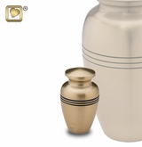 Radiance Gold Keepsake Cremation Urn